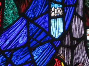 Stained glass detail tells only part of the story