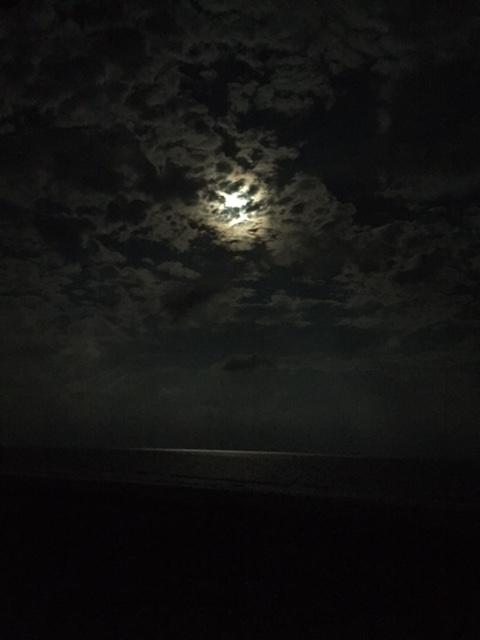 Moon over the Gulf